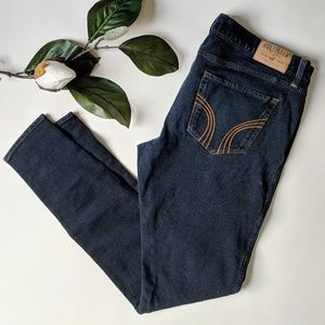 Hollister Dark Wash Skinny Jeans Jeggings Low Rise